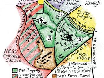 dorothea dix campus map Dorothea Dix Park Master Plan dorothea dix campus map